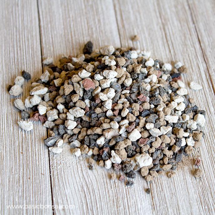 Bonsai Soil Pile